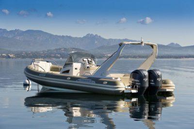 Location de bateaux semi rigide à Porto-Vecchio en Corse